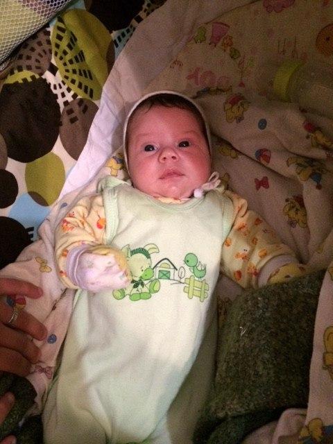 Малыш родился!